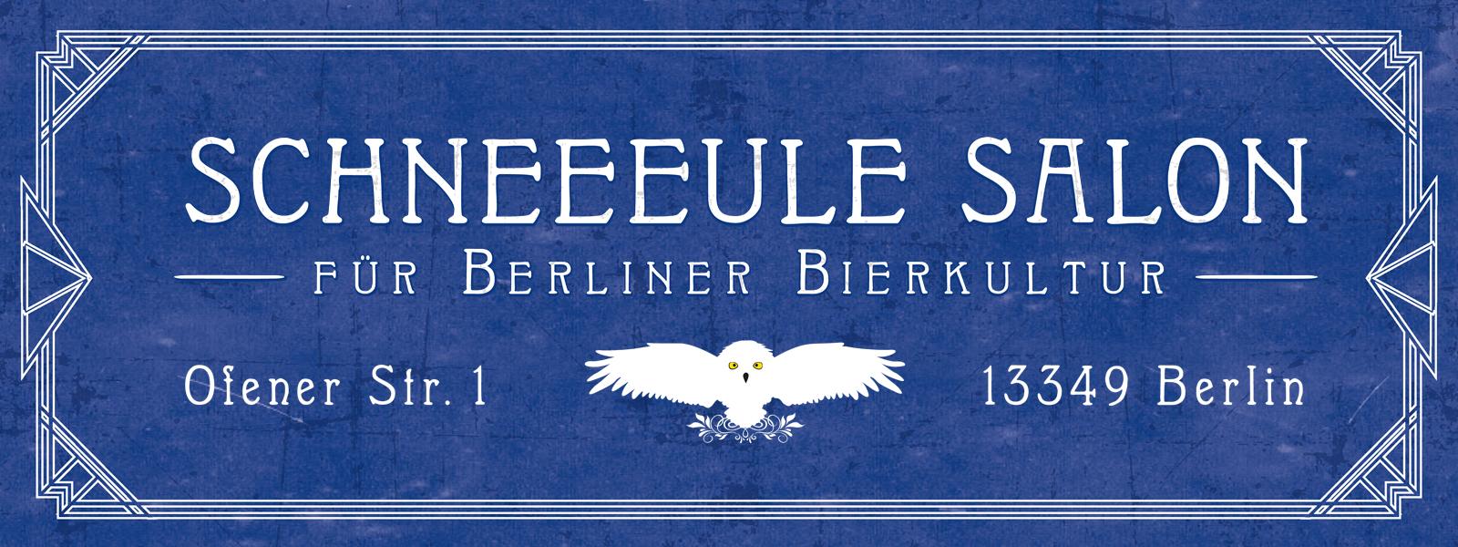 Schneeeule Salon für Berliner Bierkultur